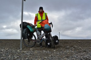Davide on the Dalton Highway